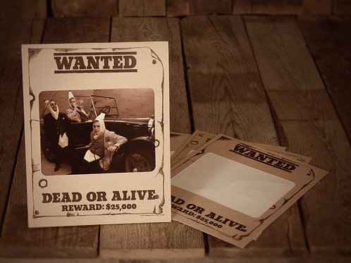 Wanted Dead or Alive Horizontal (8X10)