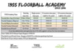 13ss Floorball Academy Poster (signupfor