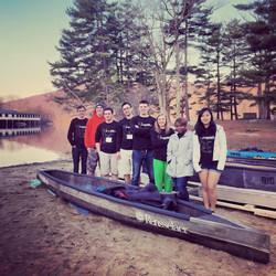 2014-2015 Concrete Canoe Team