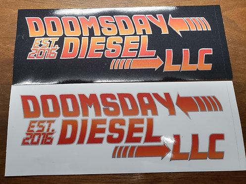 Doomsday Diesel Decals (Stickers)