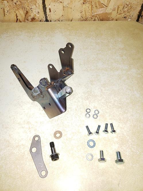 NEW 3VZE-to-OM617 Power Steering and Alternator Bracket