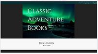 SCREENSHOT CLASSIC ADVENTURE BOOKS WEBSI