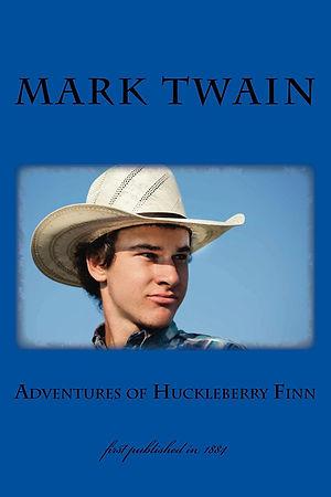 COVER Mark Twain - Adventures of Huckleb