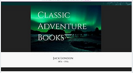 SCREENSHOT CLASSIC ADVENTURE BOOKS WEBSI