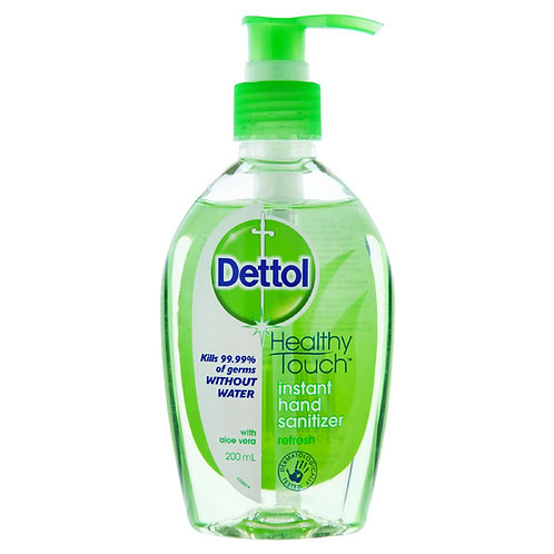 Dettol Healthy Touch Instant Hand Sanitizer (50ml & 200ml)