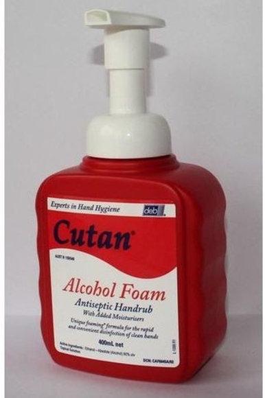 Cutan Foam Hand Sanitiser 400ml Pump