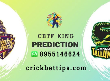 JAMAICA TALLAWAHS vs TRINBAGO KNIGHT RIDERS - CPL20 - CRIC BET TIPS BY CBTF KING