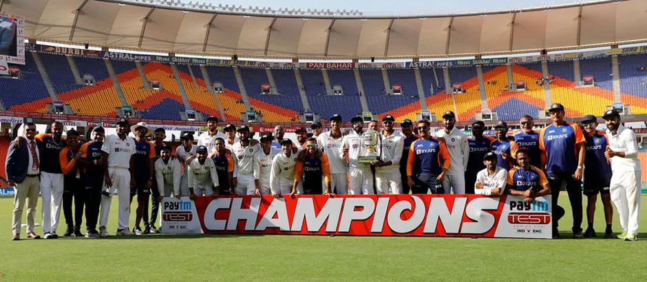 INDIA vs ENGLAND 4th Test | ICC Test Rankings Team INDIA on Top