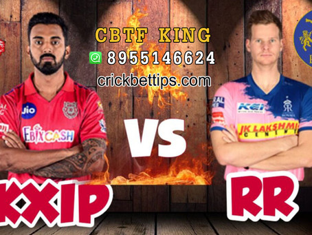 KINGS XI PUNJAB VS RAJASTHAN ROYALS - TODAY IPL CRICKET MATCH PREDICTIONS - IPL2020