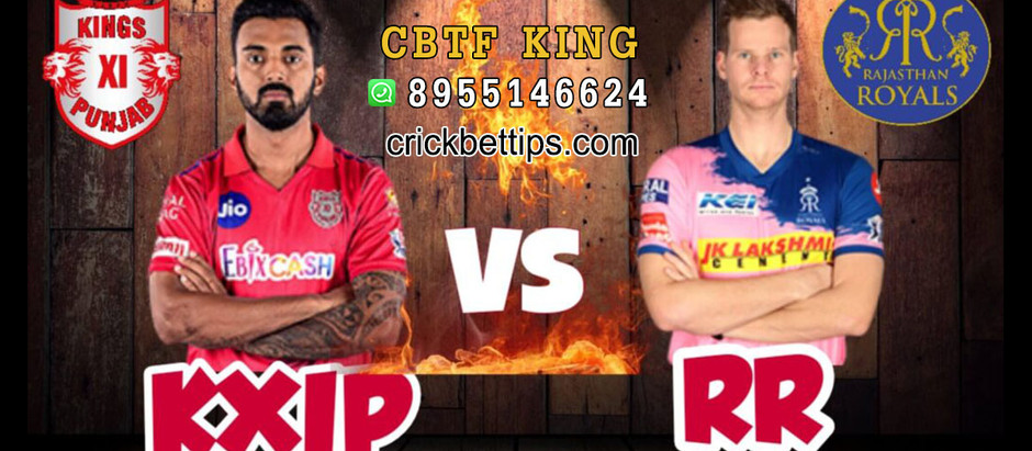 KINGS XI PUNJAB VS RAJASTHAN ROYALS - TODAY IPL CRICKET MATCH PREDICTIONS - IPL2020