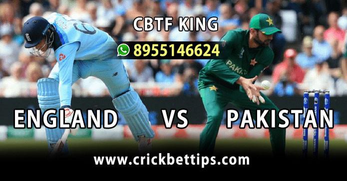 ENGLAND vs PAKISTAN - T20 SERIES - TODAY CRICKET MATCH PREDICTION