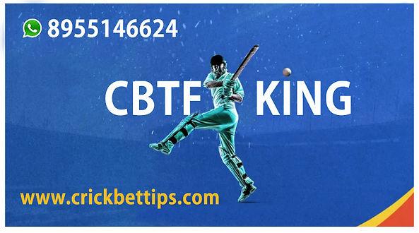 TODAY CRICKET MATCH PREDICTION BY CBTF K