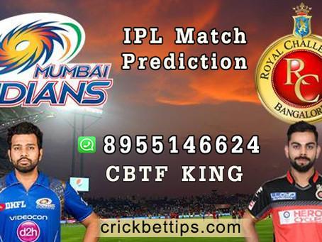 IPL 2021 - MUMBAI INDIANS VS ROYAL CHALLENGERS BANGALORE - IPL MATCH PREDICTIONS