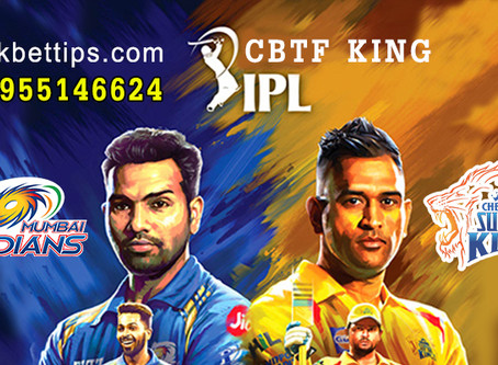 IPL T20 League 2020 - CSK vs MI - IPL Bet Tips by CBTF KING