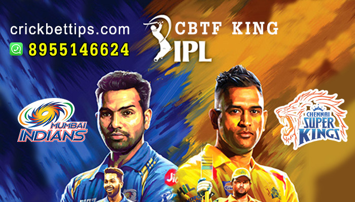 IPL T20 League 2020 - CSK vs MI - IPL Bet Tips by CBTF KING