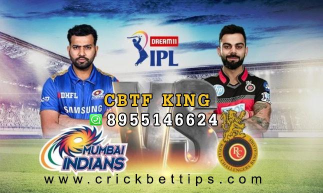 RCB vs MI - IPL T20 League 2020 - IPL Bet Tips by CBTF KING