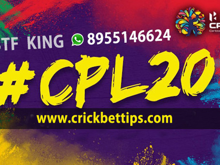 CPL T20 League 2020, 19 Aug to 26 Sep, CPL20 Bet Tips