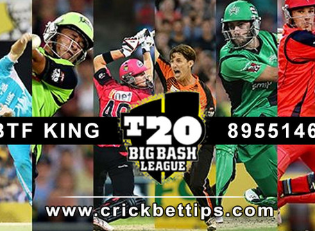 BIG BASH LEAGUE - BBL 2019-220 ALL MATCHES SCHEDULE AND MATCH REPORTS