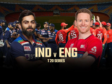 INDIA vs ENGLAND 2021: 1st T20 International 2021