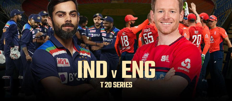 INDIA vs ENGLAND 2021: 1st T20 International 2021