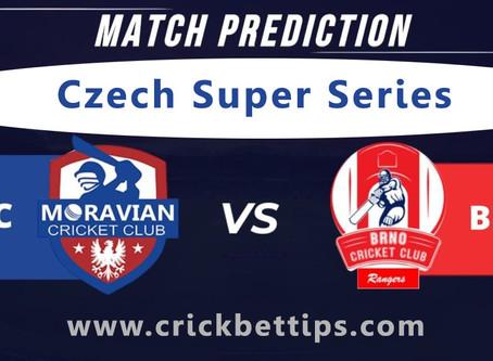 Czech Super Series - Moravian vs Rangers