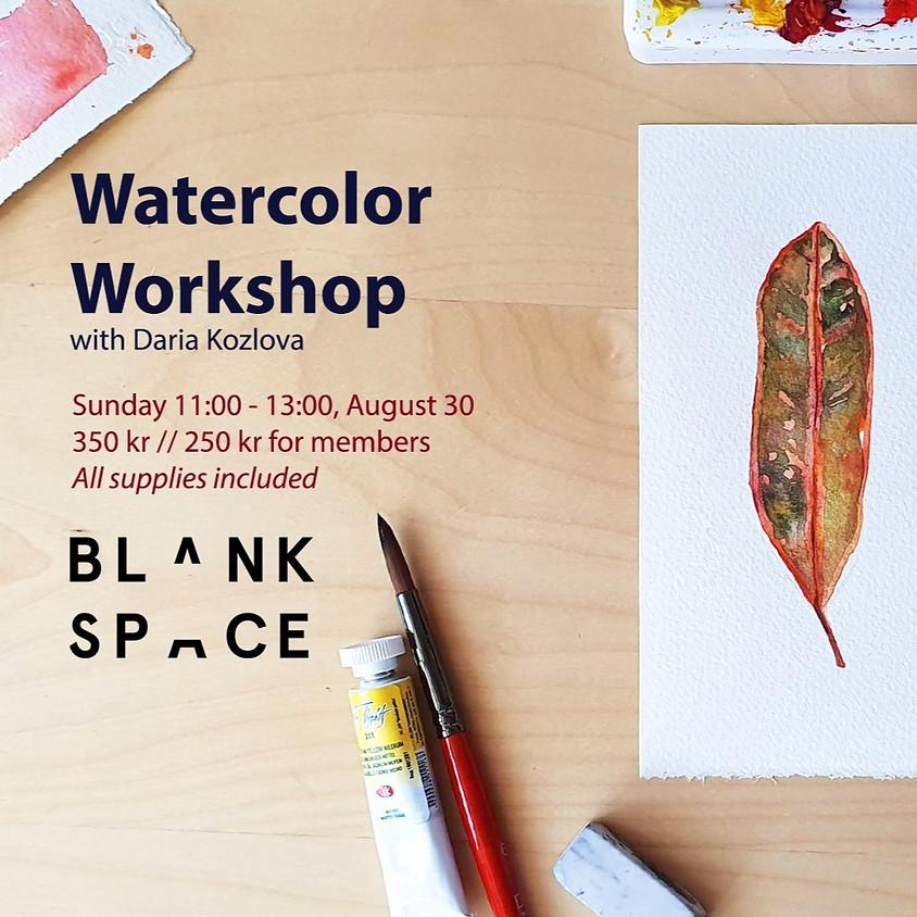 Watercolor Workshop: Autumn Leaves
