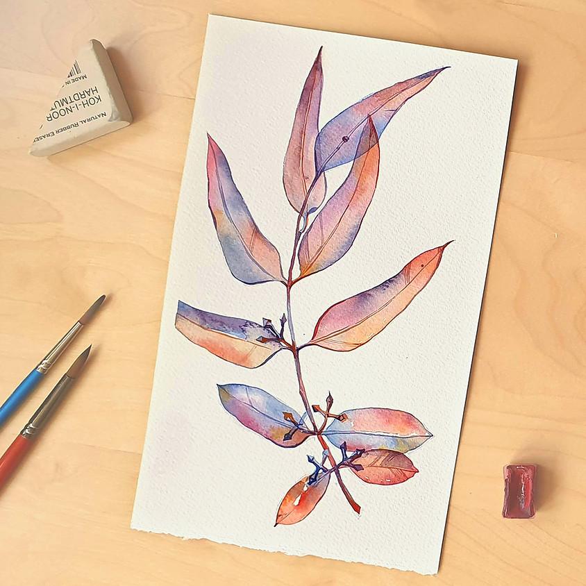 Watercolor Workshop: Eucalyptus