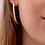 Thumbnail: Boucles d'Oreilles Créoles Noha 40mm - Ana & Cha