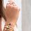 Thumbnail: Bracelet Elise Agate Noire - Ana & Cha