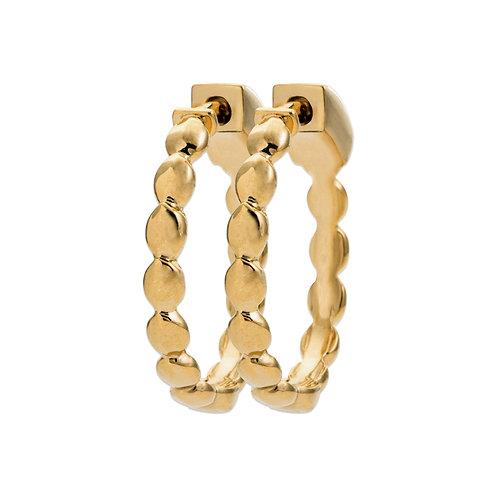 Boucles d'Oreilles Créoles Noha 20mm - Ana & Cha