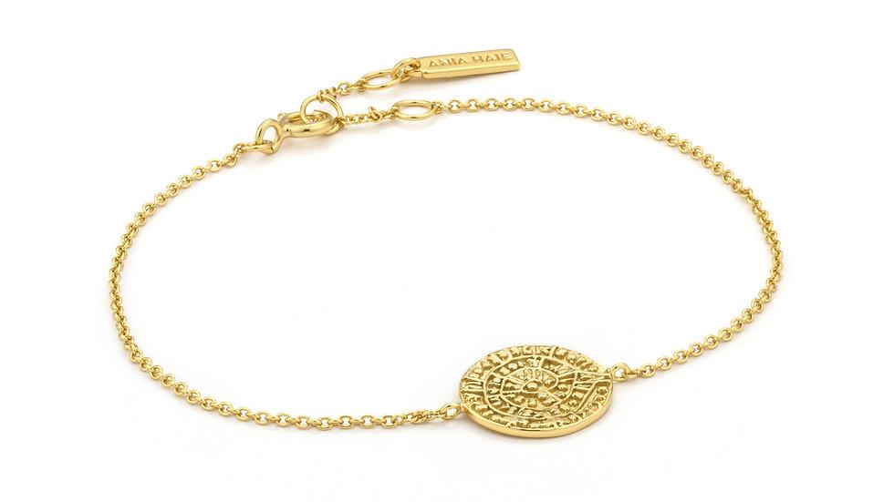 Gold Ancient Minoan Bracelet - Ania Haie