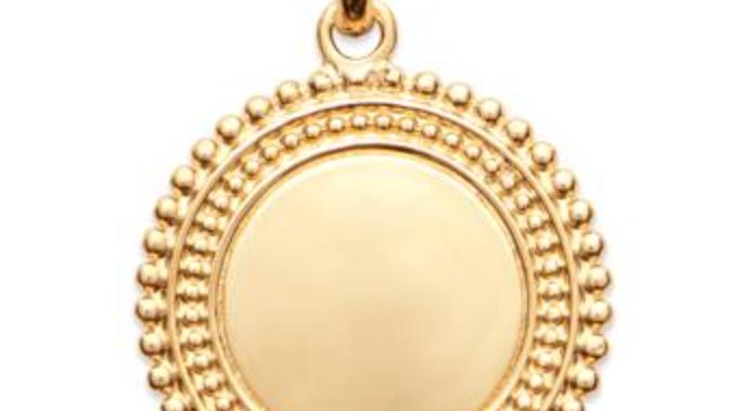 Pendentif Médaille Personnalisable
