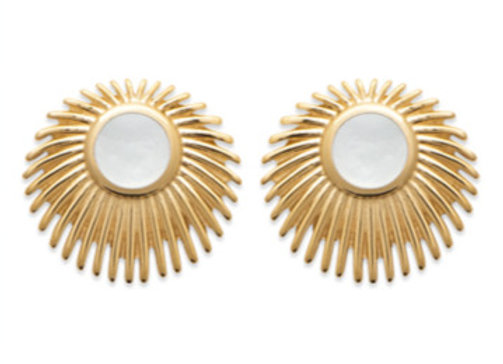 Boucles d'Oreilles Mother-of-Pearl