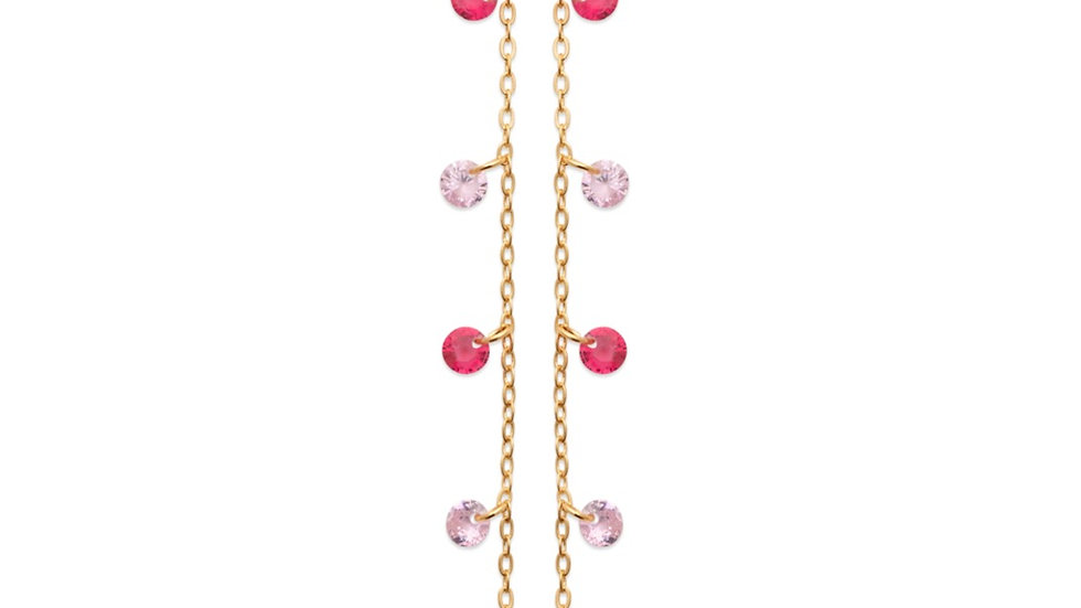 Boucles d'Oreilles True Colors Pink