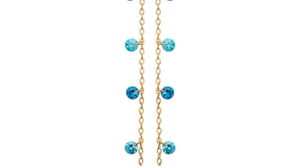 Boucles d'Oreilles True Colors Blue