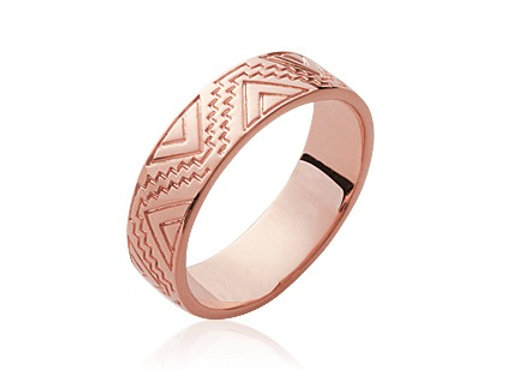 Bague Tribal Rose
