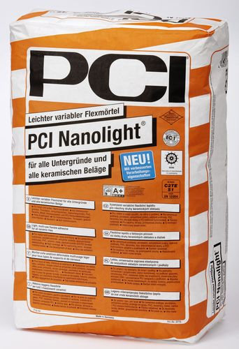 Fleksibilno lepilo za keramične ploščice PCI Nanolight 15KG