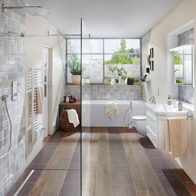 Celostne obloge kopalniške keramike mozaik.