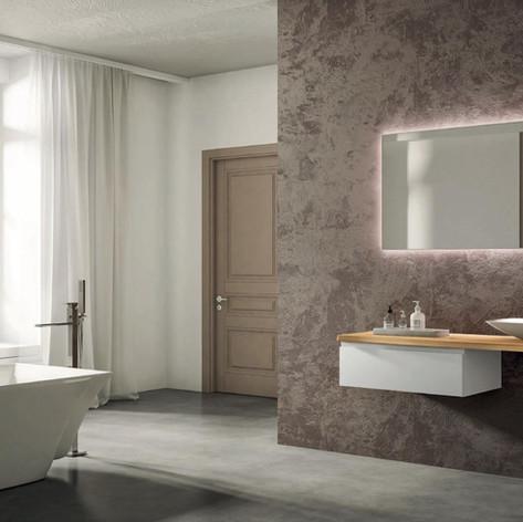 Pohištvo za kopalnico po meri.