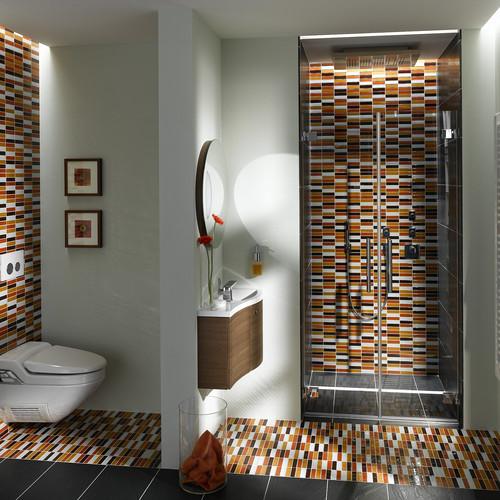 Kopalniške ploščice mozaik.