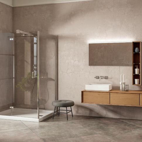 Moderno pohištvo za kopalnice.