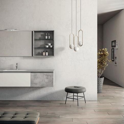 Moderne kopalniške omarice po meri.