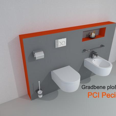 Vaša sanjska kopalnica po meri z uporabo gradbene plošče PCI Pecidur