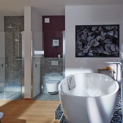 Mozaik keramika v kopalnicah.