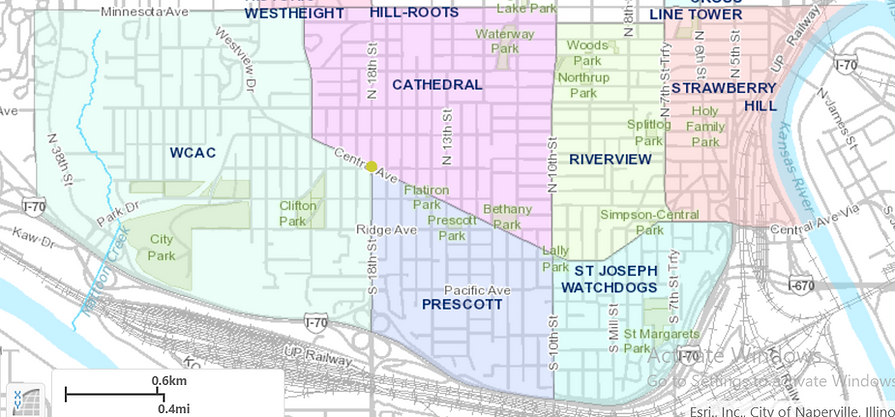 Central Ave neighborhood map.PNG