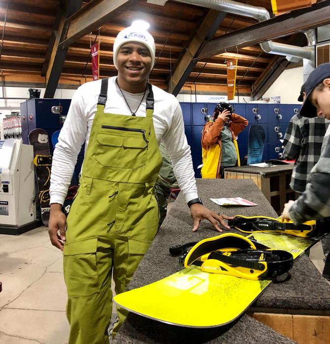 SOS Snowboarding Event