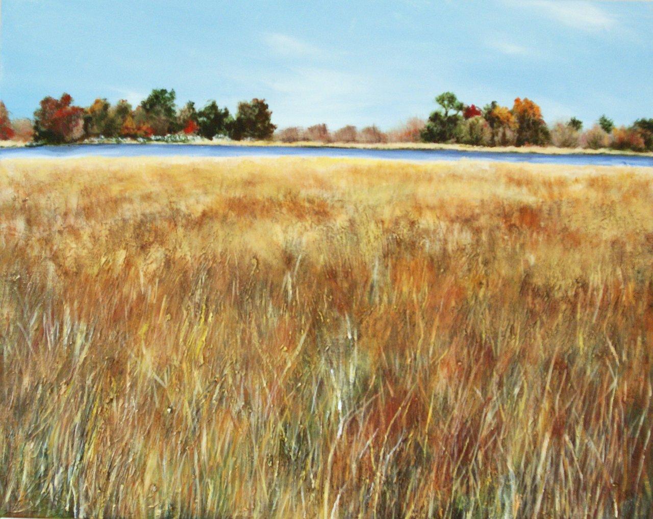Fall Marsh