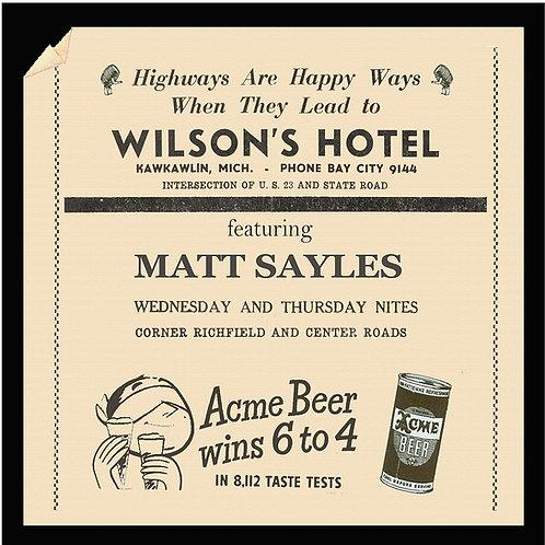 Wilson's Hotel (CD)