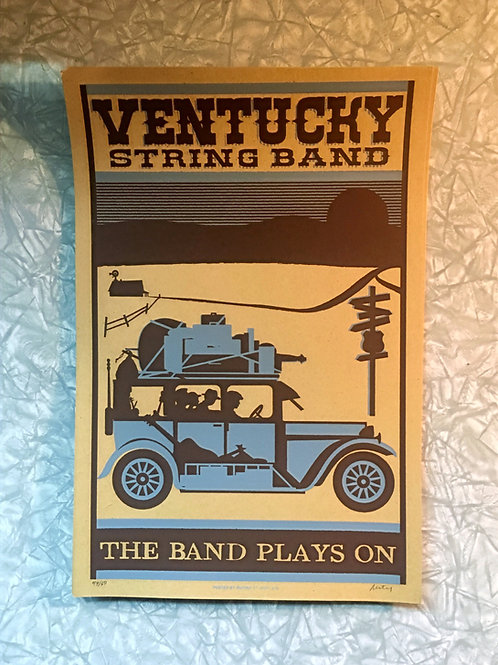 Ventucky String Band 12 x18 Print