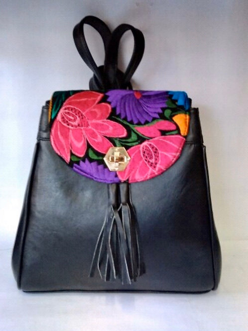 6 floral Leather bags